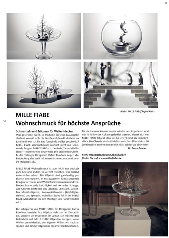 Artikel MILLE FIABE, Katrin Ruoffner, UPPER CLASS MAGAZIN