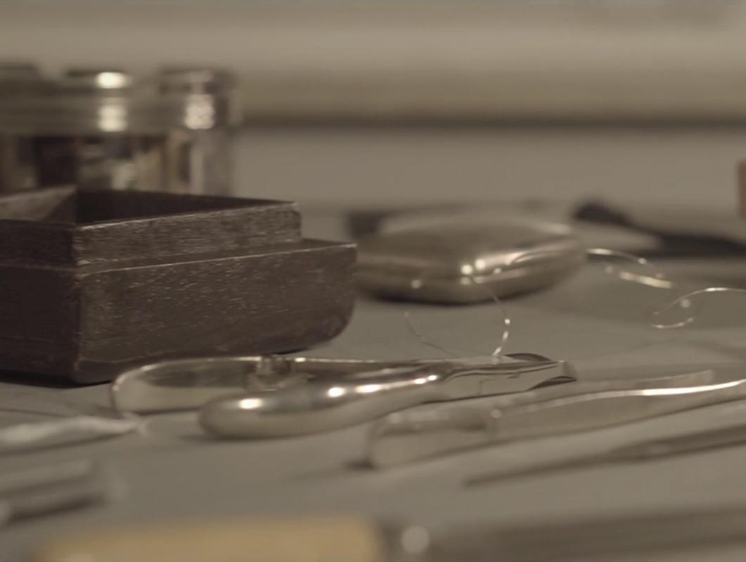 feine Werkzeuge im Designatelier von MILLE FIABE, Katrin Ruoffner