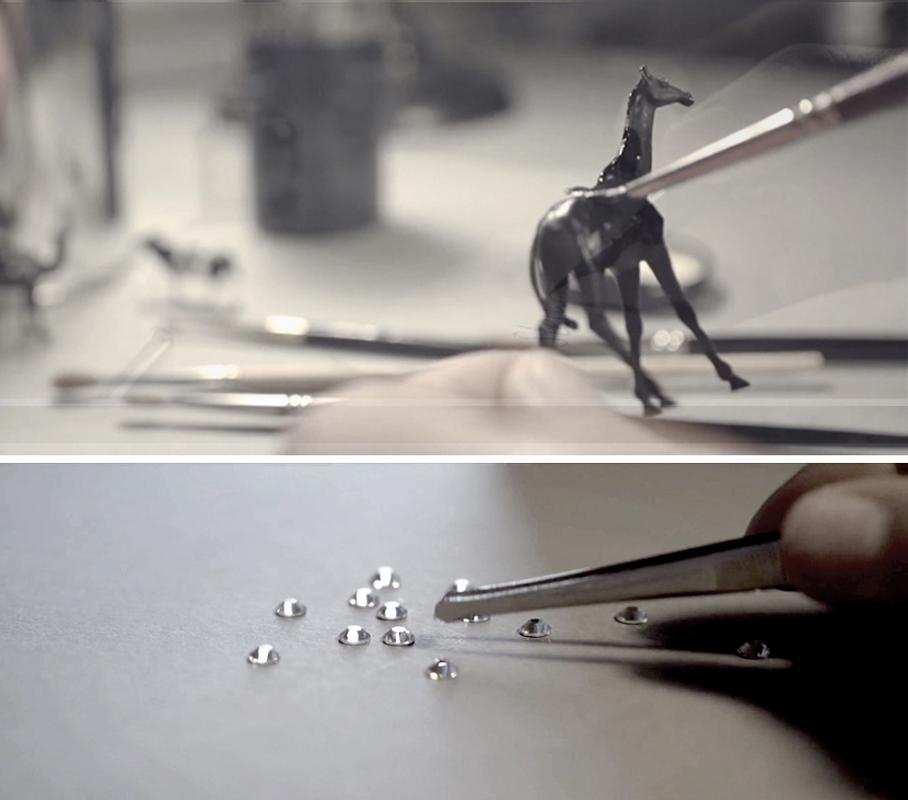 filigrane Arbeiten im Designatelier von MILLE FIABE, Katrin Ruoffner
