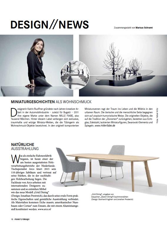 Artikel MILLE FIABE, Katrin Ruoffner, Designmagazin Wien