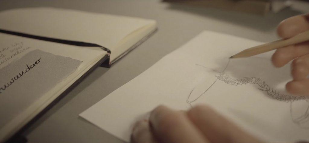 Konzeption im Designatelier von MILLE FIABE, Katrin Ruoffner