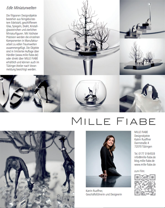Artikel MILLE FIABE, Katrin Ruoffner, Inflight Magazin DISCOVER GERMANY